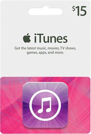 Picture of Apple iTunes Gift Card $15
