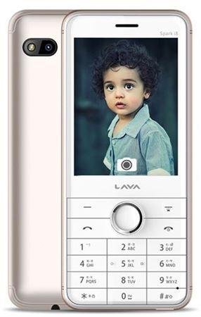 Picture of Lava Spark i8 Dual SIM - White/Gold