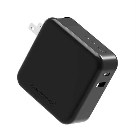 Picture of RAVPower AC Charger 5000mAh PD+QC3.0 UK - Black