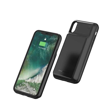 Picture of RAVPower Wireless Battery Case 3200mAh for iPhone X - Black