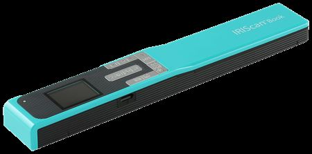 Picture of IRIScan Book 5 Mobile Scanner Turquoise