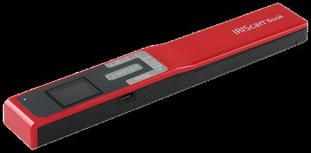 Picture of IRIScan Book 5 Mobile Scanner Red