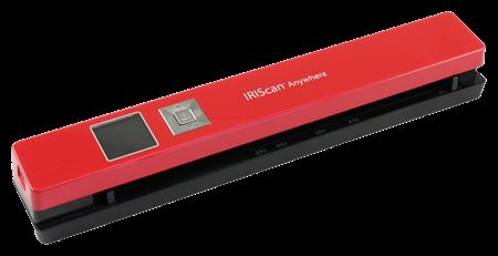 Picture of IRIScan Anywhere 5 Portable Scanner Red