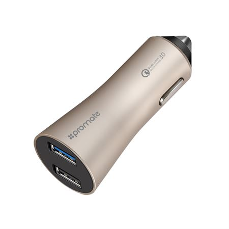 Picture of Promate Robust-QC3 Gold Compatible with All USB-powered Device