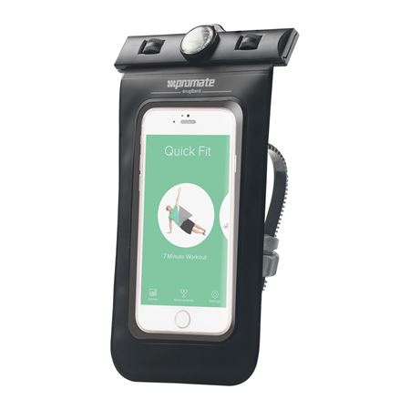 Picture of Promate SnugRide Waterproof Case with Bike Mount and Waterproof Headsets