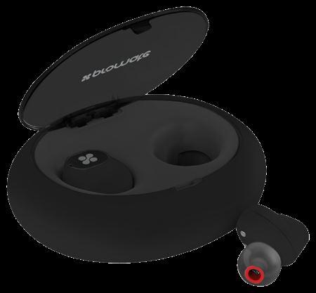 Picture of Promate TrueBlue True Wireless Stereo Hi-Fi Earphones Black