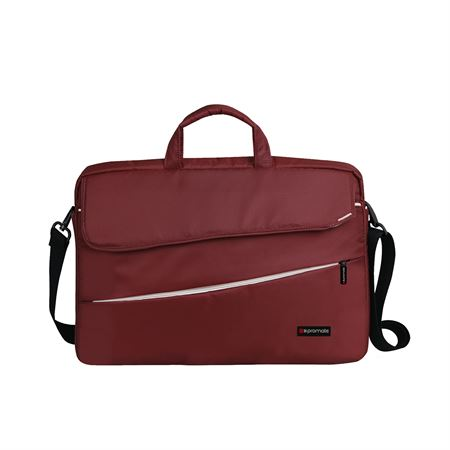 Picture of Promate Charlette Messenger Bag for 15.6-inch Laptops Red