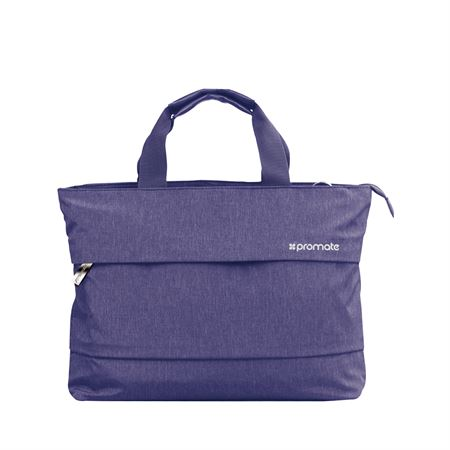 Picture of Promate Desire-LD Lightweight Ladies Hand Bag for 13-inch Laptops Blue