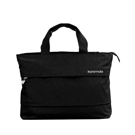 Picture of Promate Desire-LD Lightweight Ladies Hand Bag for 13-inch Laptops Black