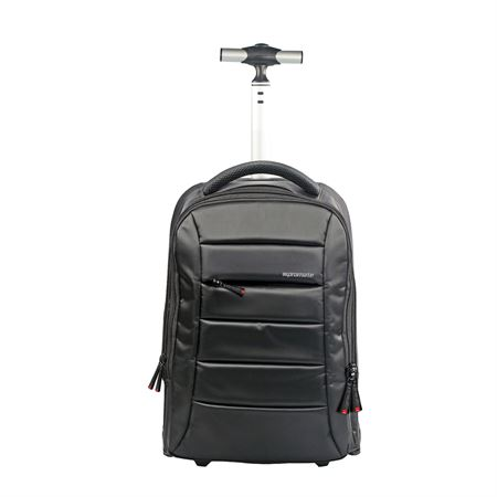 Picture of Promate bizPak-TR High Volume Heavy Duty Trolley Bag for 15.6-inch Laptops Black