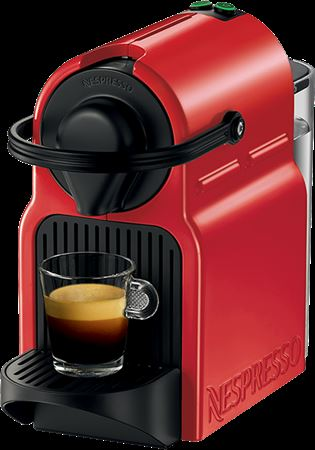 Picture of Nespresso Inissia Coffee Machine Ruby Red