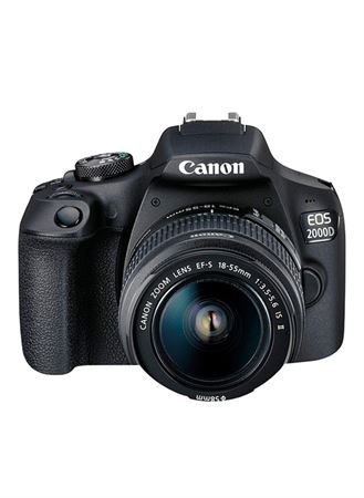 Picture of Canon EOS 2000D DSLR Camera With EF-S 18-55mm IS Lens Kit