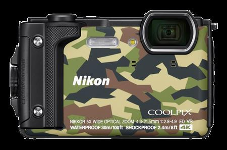 Picture of Nikon Coolpix  W300 16MP Underwater Digital Camera Camouflage