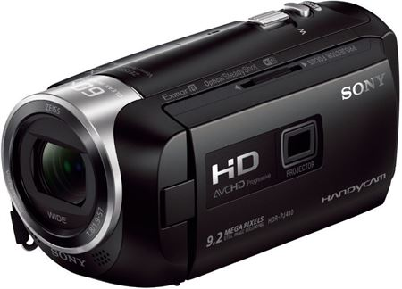 Picture of Sony PJ410 Handycam Camcorder with Built-in Projector - 2.7 Inch Screen Size Black