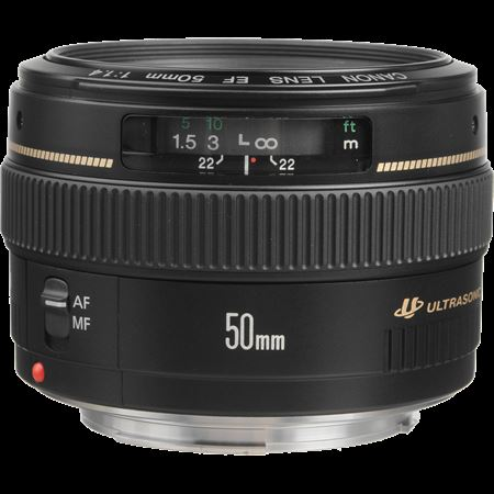 Picture of Canon EF 50mm f/1.4 USM Lens