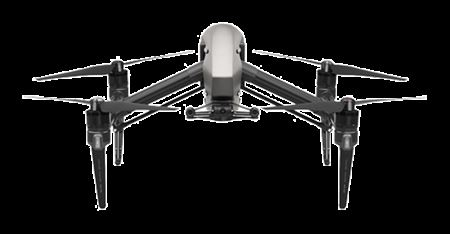 Picture of DJI Inspire 2 Quadcopter with CinemaDNG and Apple ProRes Licenses