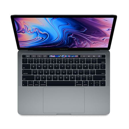 """Picture of MacBook Pro MV962 Intel Core i5 2.4GHz quad-core 8th-generation  256GB  Intel Iris Plus Graphics 655  13.3"""" Retina display with Touch Bar and Touch ID - Space Gray"""