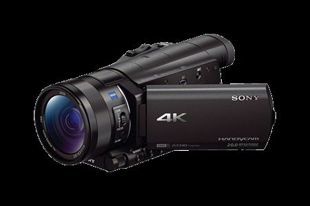 Picture of Sony FDR-AX100 4K Handycam Camcorder Black