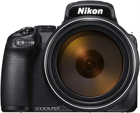 Picture of Nikon P1000 16MP 125 x Optical Zoom Point and Shoot Camera Black
