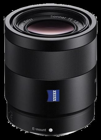 Picture of Sony Sonnar T FE 55mm f/1.8 ZA Lens Black