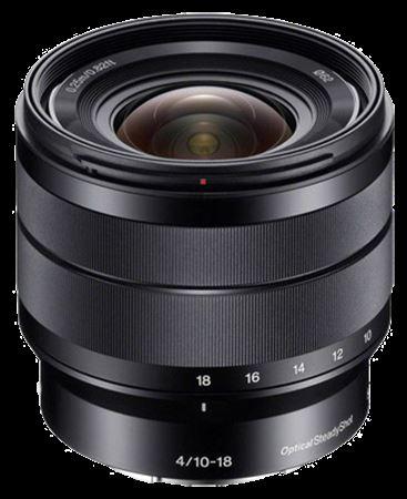 Picture of Sony E 10-18mm f/4 OSS Lens Black