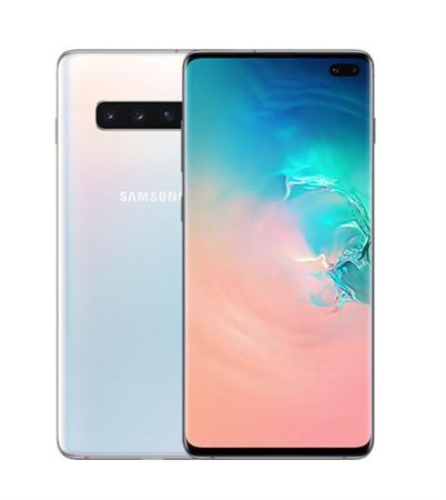 Picture of Samsung Galaxy S10+ Dual Sim - 128GB  8GB RAM  4G LTE  Prism White