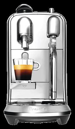 Picture of Nespresso Creatista Plus Breville Coffee Machine - Silver