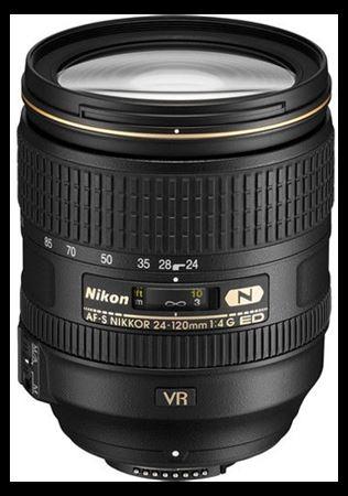 Picture of Nikon AF-S Nikkor 24-120mm f/4G ED VR Lens
