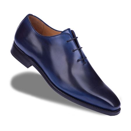 Picture of Neqwa Men's Shoes Madrid Collection - Deep Blue Patina
