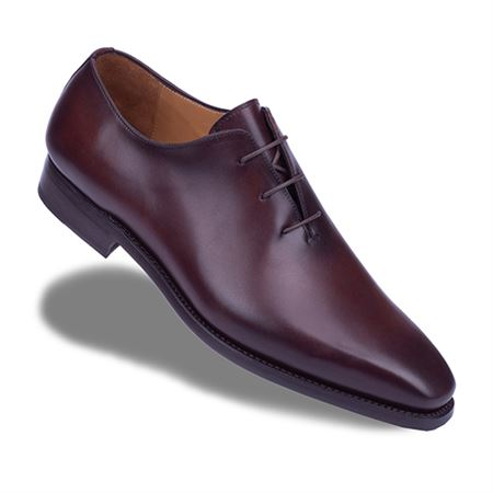 Picture of Neqwa Men's Shoes Madrid Collection - Golden Brown Patina