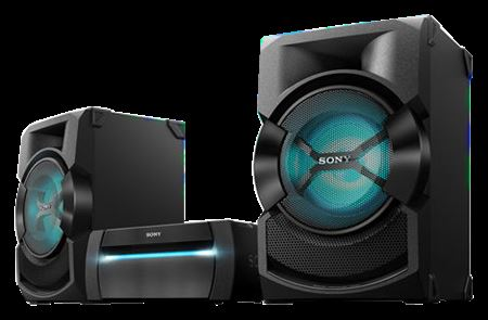 Picture of Sony High-Power Home Audio System with Bluetooth