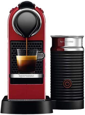Picture of Nespresso Citiz&Milk D123 Cherry Red Coffee Machine