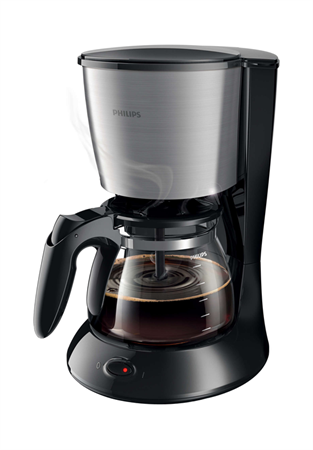 Picture of Philips Daily Collection Coffee Maker Black HD7457