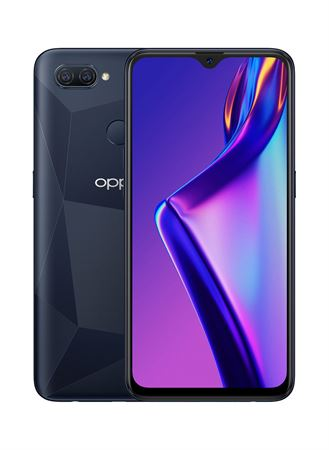 Picture of OPPO A12 Dual SIM 4GB RAM 64GB 4G LTE - Black