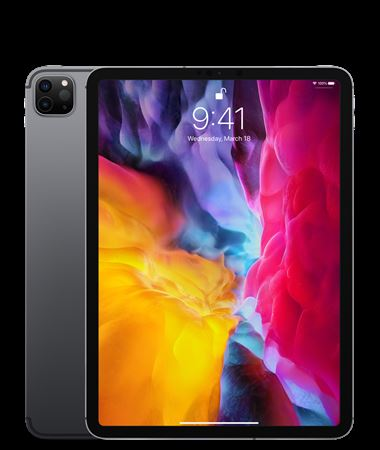 Picture of Apple iPad Pro 2020 Wifi + Cellular- 128GB Space Gray 11 inch