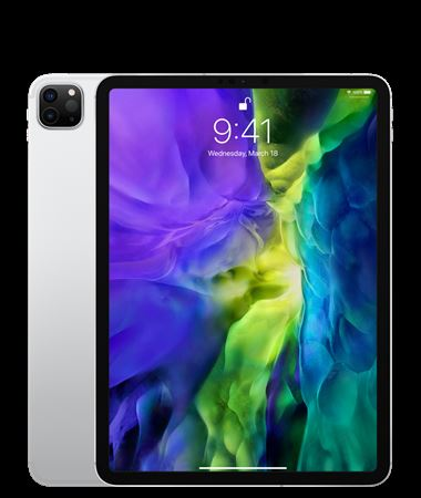 Picture of Apple iPad Pro 2020 Wifi + Cellular- 256GB Silver 12.9 inch