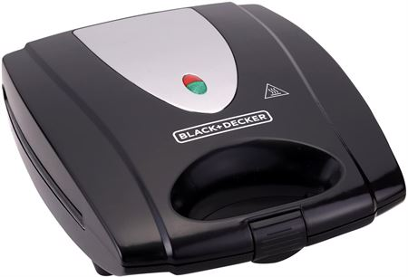 Picture of Black & Decker TS4080-B5 4-Slot Multiplate Sandwich Maker with Grill Plates
