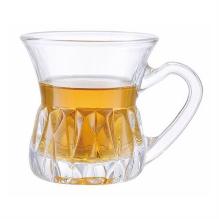 Picture of dessini-glass-tea-cup-6-pcs-akat102