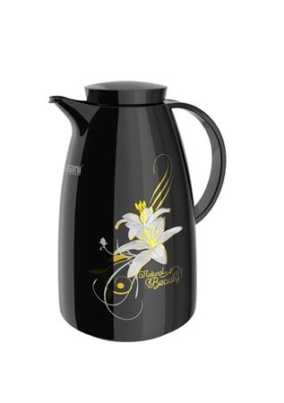 Picture of dessini-high-quality-glass-flask-with-capacity-of-1-liter-black