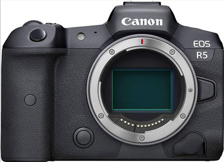 Picture of Canon EOS R5 Body Mirrorless Digital Camera Body - Black