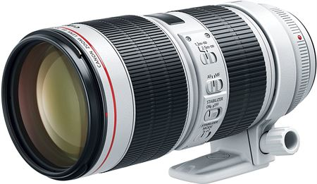 Picture of Canon EF 70-200mm f2.8 L IS III USM Telephoto Lens - White