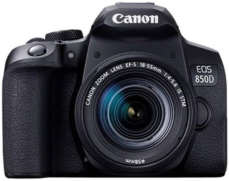 Picture of Canon EOS 850D + EF-S 18-55mm f/4-5.6 IS STM Lens