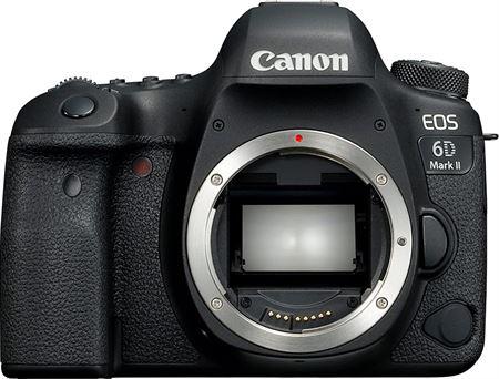 Picture of Canon EOS 6D Mark II Body, 26.2 MP, DSLR Camera, Black