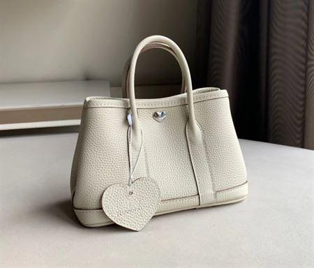 Picture of Littlebunnystore GD mini 18 cm Togo genuine leather in craie ( creamwhite)