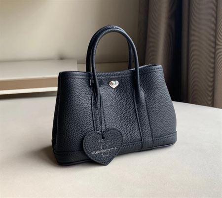 Picture of Littlebunnystore GD mini 18 cm Togo genuine leather in black